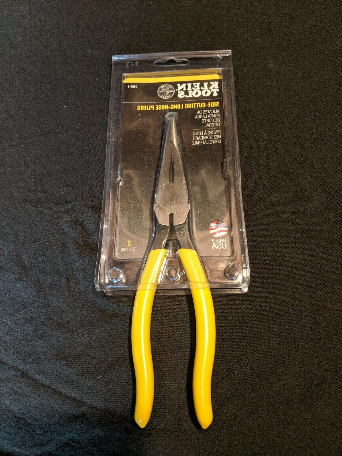 8 inch long nose pliers