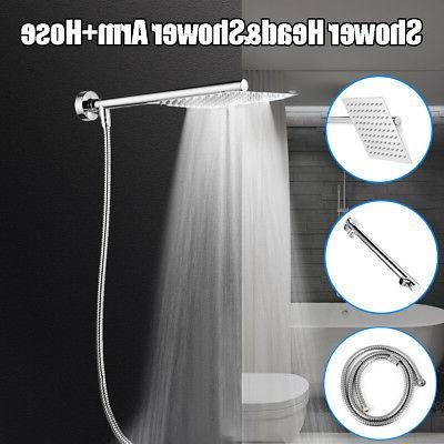 8 inch rainfall shower head with shower