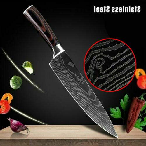 8inch kitchen chef knives boutique knife damascus