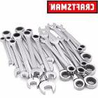 Craftsman 20 pc Combination Ratcheting Wrench Set Metric MM