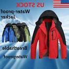 Men Waterproof Outdoor Hoodie Coat Jacket Winter Warm Shell