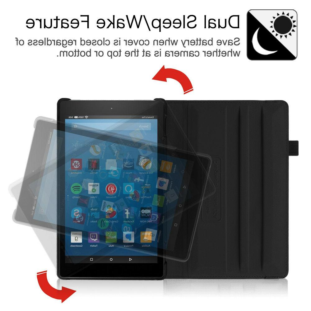For Fire 8 inch Generation 2018 Tablet Case Cover Stand