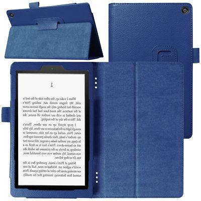 For Amazon Kindle 8 Inch Tablet Case PU Leather Cover