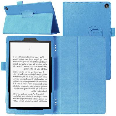 For Amazon Fire 8 8th 8 Tablet PU Leather Cover