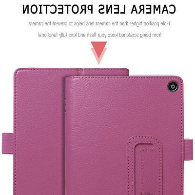 For Kindle Fire 8 8 Inch Case PU