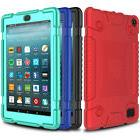 For Amazon Kindle Fire HD 8 7 2019 Tablet Case Hybrid Rugged