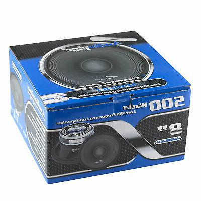 Audiopipe 8 500W Low/Mid Frequency Midbass Car Speaker