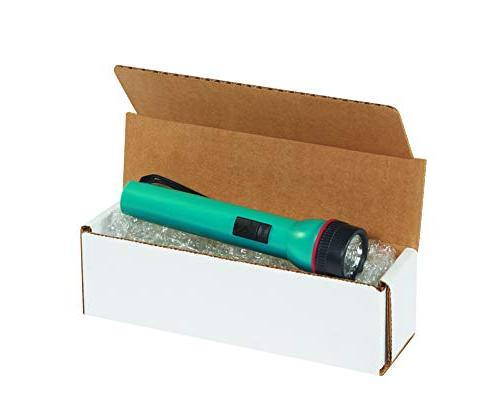 """Aviditi Corrugated Mailer, 8"""" Length Width x Height, Oyster"""