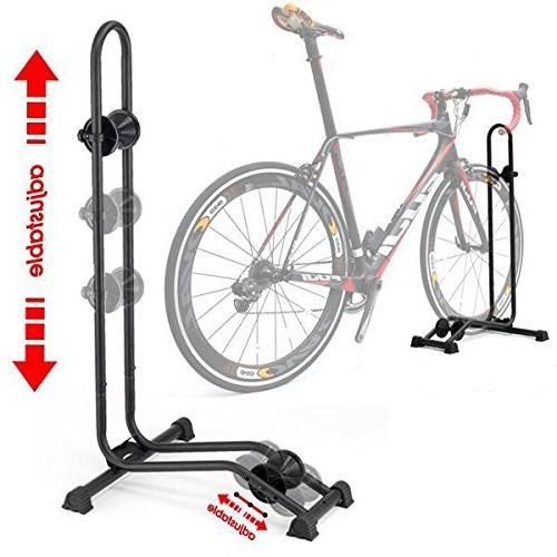 bike bicycle floor parking rack