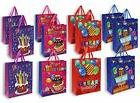 NEW Birthday Gift Bags 12 Pack Medium Birthday Party 3D Pres