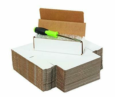 Boxes Corrugated Cardboard Mailers, 4 x Inches, Tuck One