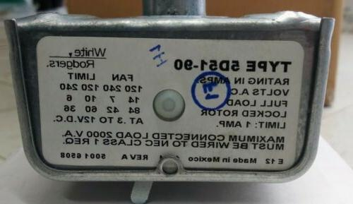 WHITE RODGERS Emerson Fan Furnace Control