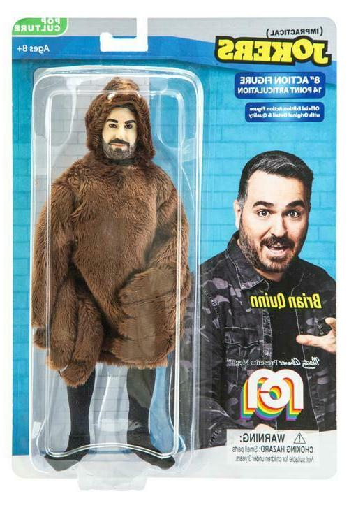 brian quinn 8 inch action figure impractical