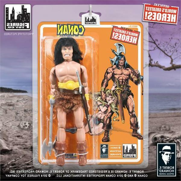 conan the barbarian 8 inch action figure
