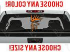 Deer Buck Antlers Hunting Car Truck Decal Vinyl Sticker Cust