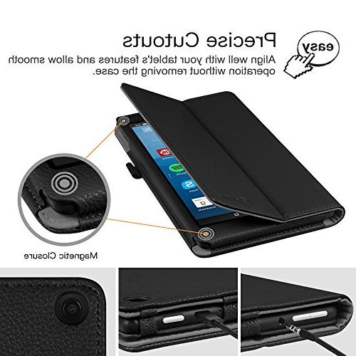 Fintie Folio All-New HD 8 Tablet Slim Fit Standing