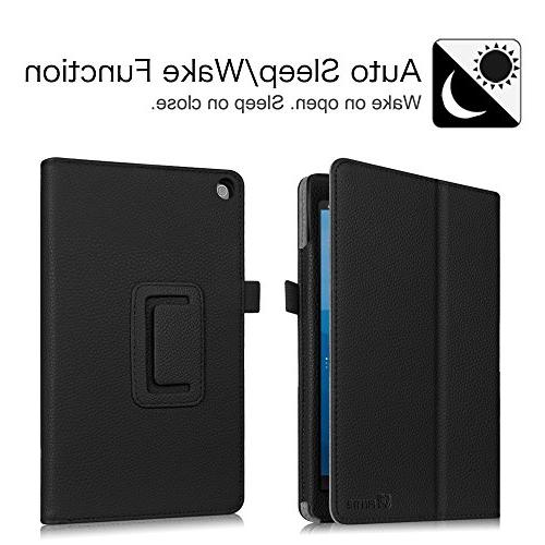 Fintie Folio Case All-New 8 Tablet Fit Premium Standing Protective Cover,