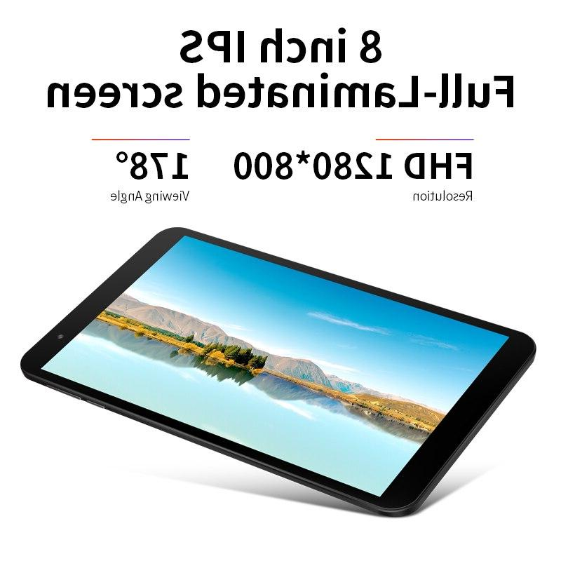 <font><b>8</b></font> P80X 4G LTE PC Spreadtrum Core Android 9.0 GPS 2GB RAM 1280 800 IPS Tablet