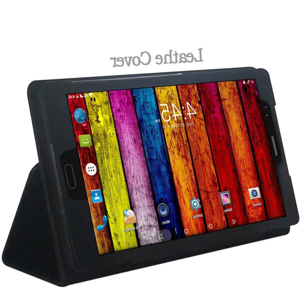 <font><b>8</b></font> <font><b>inch</b></font> Tablet PC Android Phone 4GB/64GB Octa Core Bluetooth Support PC +Cover