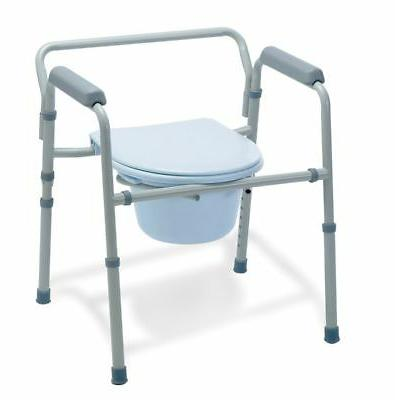 heavy duty bedside bariatric commode extra wide