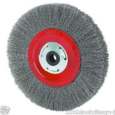 inch round steel wire brush