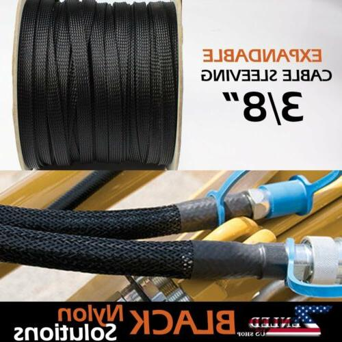 industrial grade fray resistant clean expandable braided