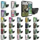 For iPhone 7 iPhone 8 Defender Armor Case Holster Kickstand