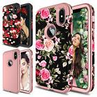 For iPhone XS Max Phone Case Luxury Shockproof TPU Armor Ful