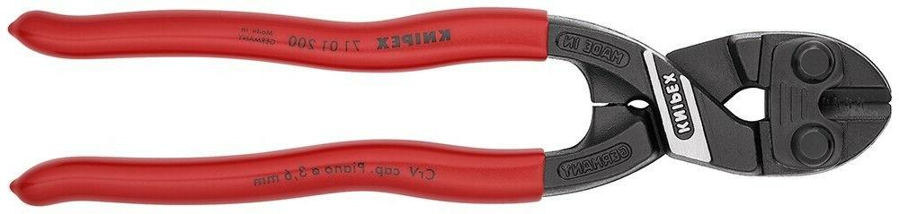 "Knipex 8"" High CoBolt Cutters Cable Bolt Piano Wire Nail"