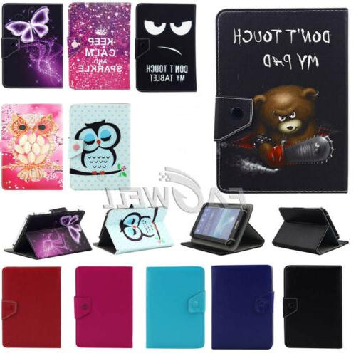 For LG F2 LK460 + 4G, , 8 inch Universal Leather Case