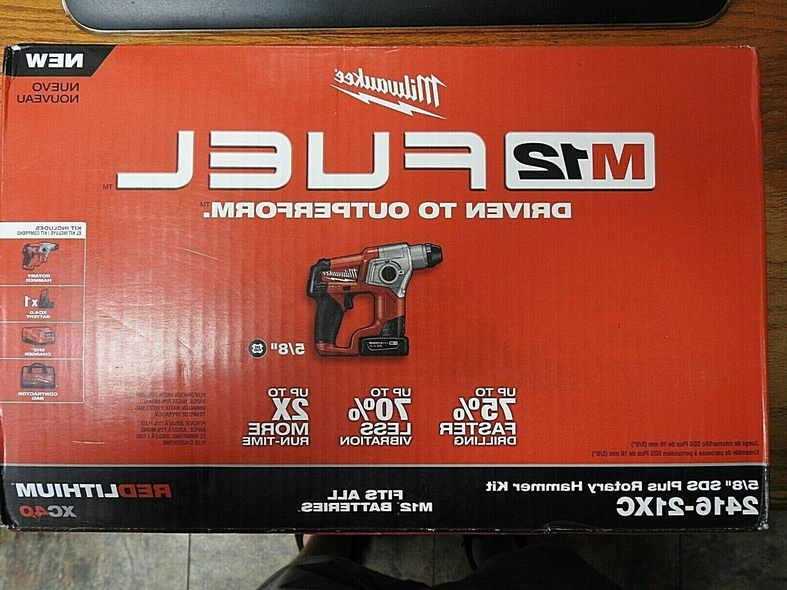 m12 fuel 5 8 inch rotary hammer