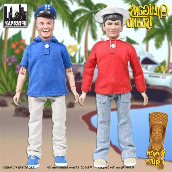 mego retro gilligan and skipper 8 inch