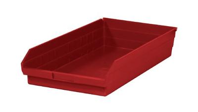nestable plastic storage shelf bins 23 5