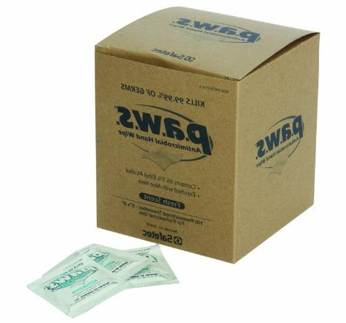 north 1534400 paws antimicrobial wipes