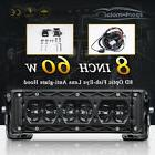 Offroad 60W 8inch LED Light Bar Spot Beam Fog Driving Truck