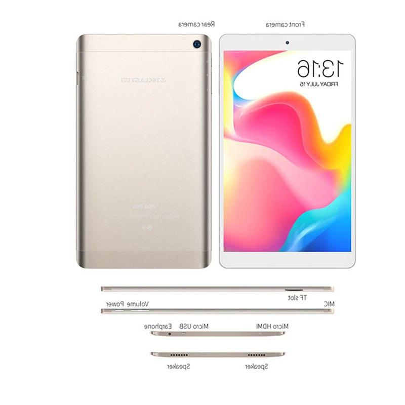 Teclast Tablet PC <font><b>8</b></font>.0 <font><b>Inch</b></font> HD 7.0 RAM eMMC MTK8163 Quad WiFi GPS