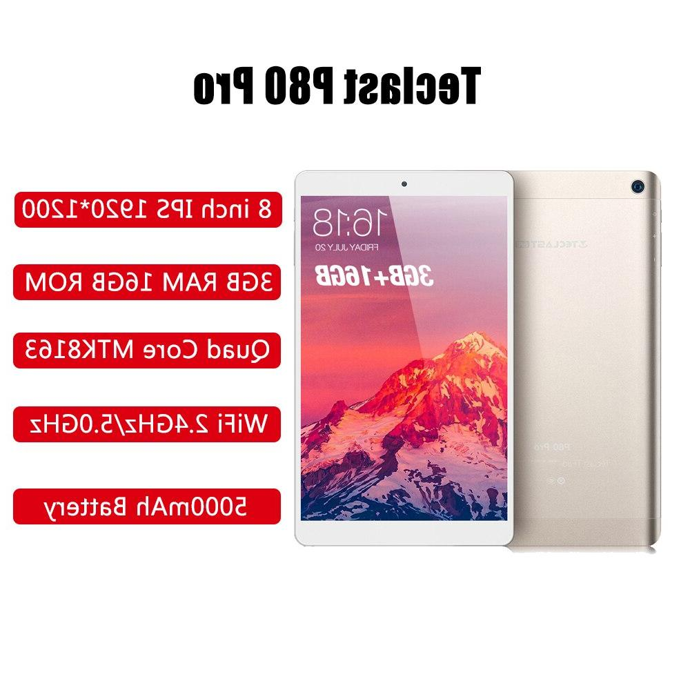 Teclast PC <font><b>Inch</b></font> HD Android RAM 16GB eMMC ROM MTK8163 Quad Core WiFi HDMI GPS