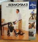 Medline Premium Empower Folding Mobility Rollator Walker 8-i