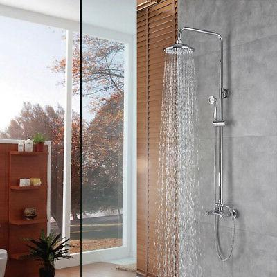 rain shower system with 8 inch shower