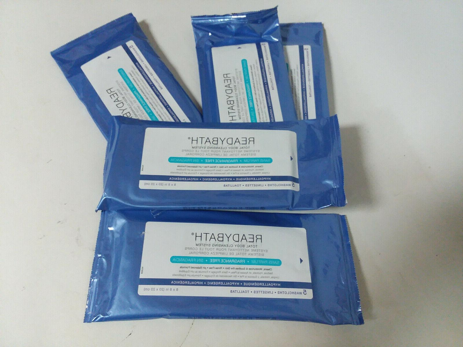 readybath unscented cleansing cloths