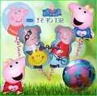 5 Piece Set of Peppa Pig Birthday Party Balloon