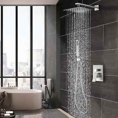 Shower Brushed Nickel 8 Rainfall Tap