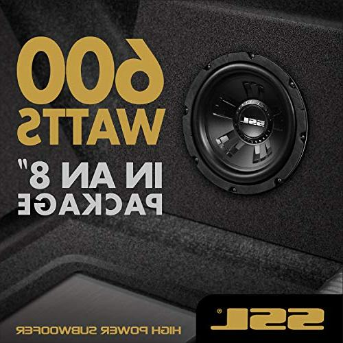 Sound Subwoofer 600 Maximum Power, 8 Coil, Mounting
