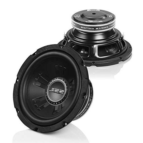 Sound SSLD8 Subwoofer 600 Watts Maximum 8 Inch, Dual Voice