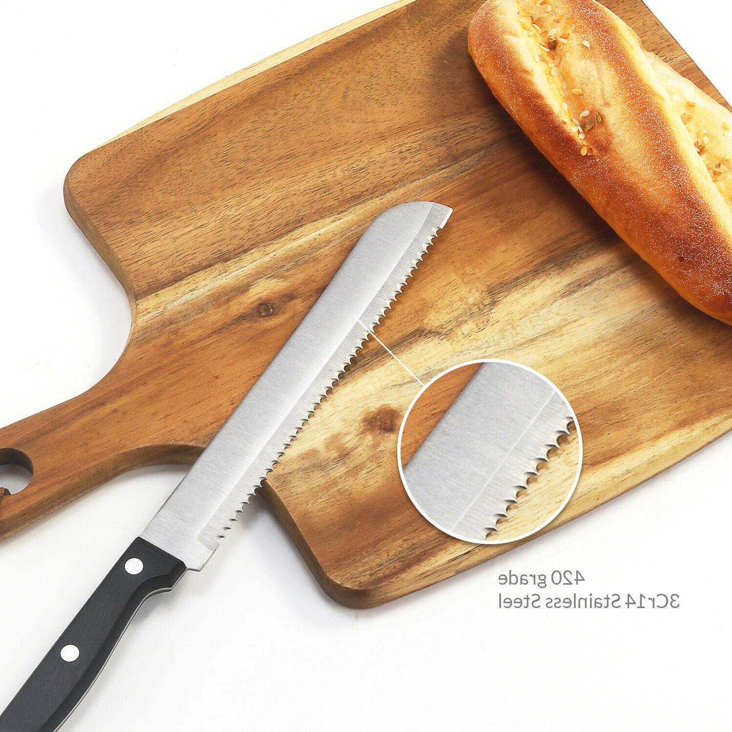 Bread Stainless Steel Serrated Knife