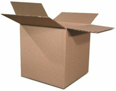 The Packaging Wholesalers 8 x 6 x 4 Inches Shipping Boxes, 2