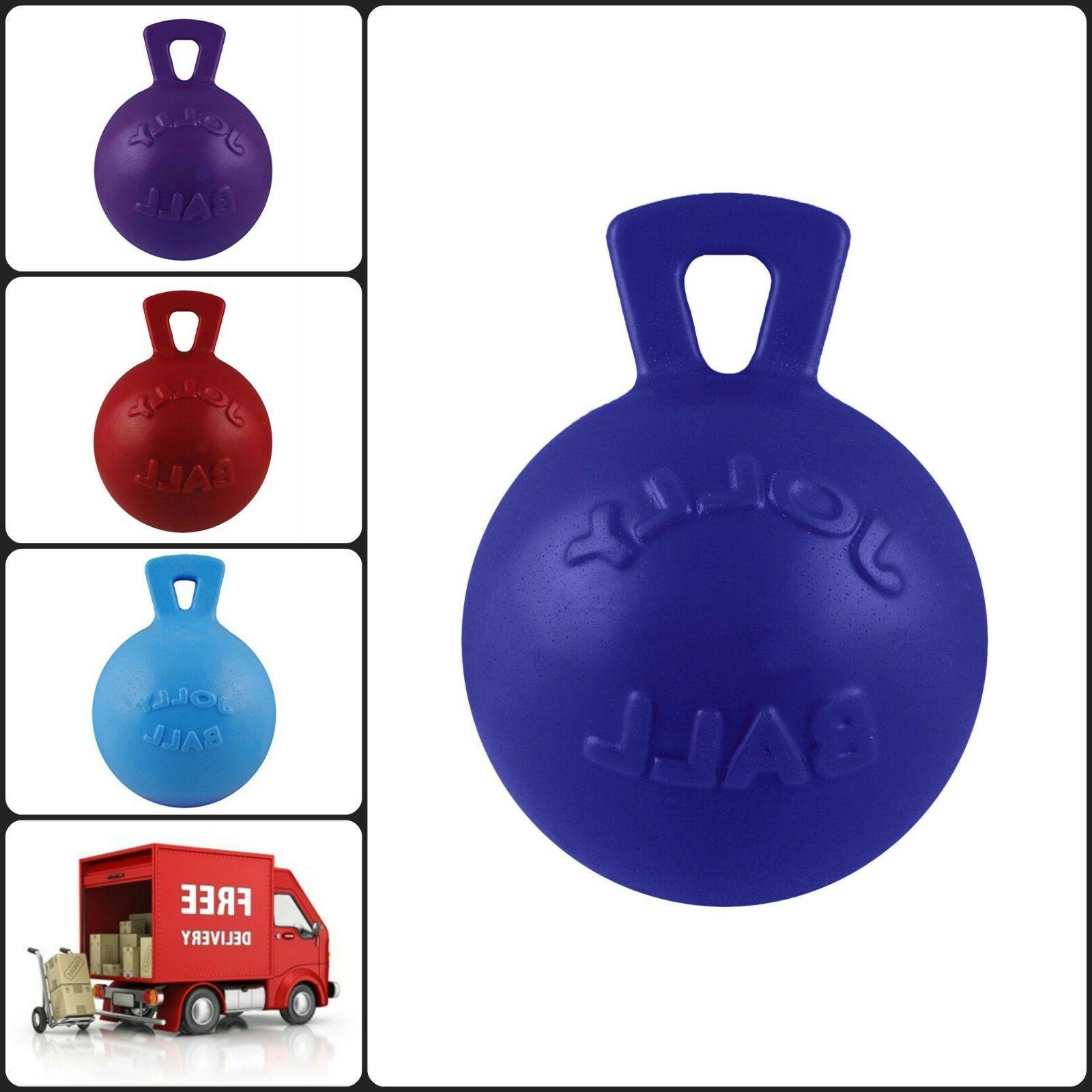 Tug Toss Chew Handle Toy Blueberry Purple