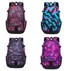 Women Girl Canvas Backpack Large Size Travel Rucksack Bag Sh