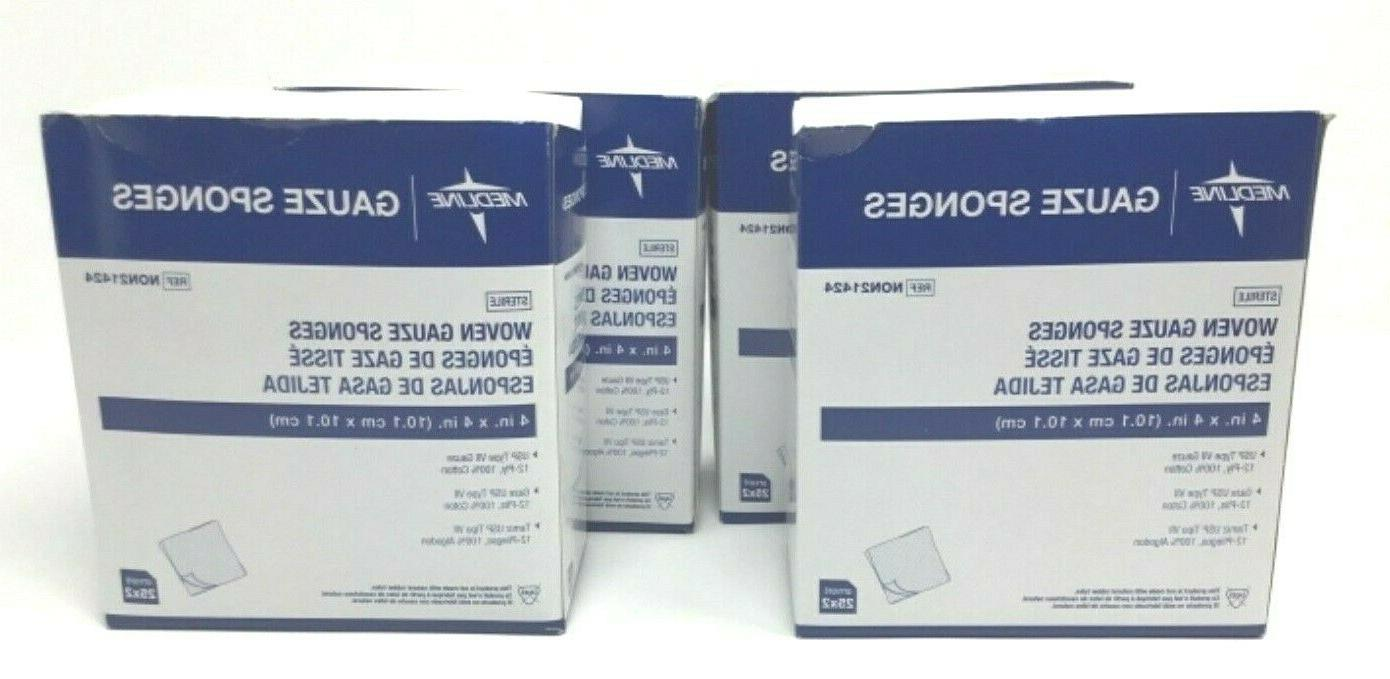 Medline Gauze Sterile Ply NON21424
