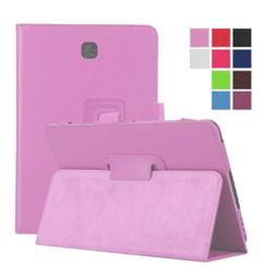 Leather Folio Case Stand Cover For Samsung Galaxy Tab A 8.0